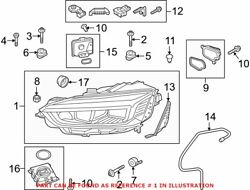 Genuine Oem Front Left Headlight Assembly For Audi 8w6941773f