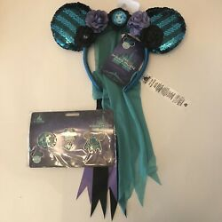 Minnie Mouse The Main Attraction Haunted Mansion Madame Leota Ears And Pins