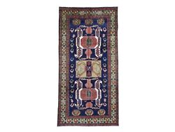 5'7x11' Vintage North West Farsian Wide Runner Hand-knotted Oriental Rug R46750