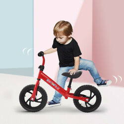 12andrdquo Balance Bik Kids Bicycle E Children No-pedal Learn To Ride Bike Walking Part