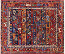 8and039 2 X 9and039 11 Hand-knotted Fine Serapi Wool Rug - Q5148