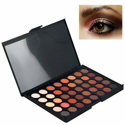 Eyeshadow Palette Makeup 40 Color Cream Eye Shadow Matte Shimmer Set Cosmetic $5.95