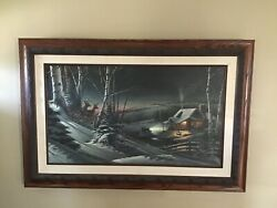 Andldquoevening With Friendsandrdquo By Terry Redlin Legacy Canvas Edition 96/500