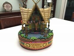 Disney Enchanted Tiki Room Large Figurine Rare Mint Condition Collectible