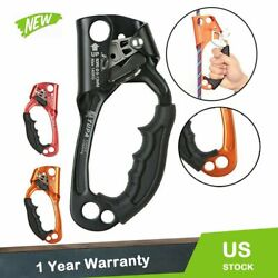 Hand Ascender Rock Climbing Tree Arborist Rappelling For 813mm Gear Rope