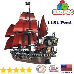 Building Blocks Ideas 16009 Pirates Of The Caribbean Queen Anneand039s Revenge Boat