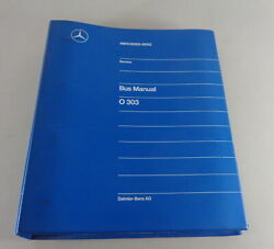 Workshop Manual Mercedes Benz Bus O 303 Build Year 1972 - 1994