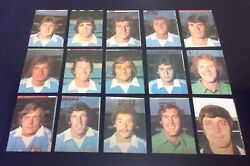 Ava Americana 1977/78 Unused Football Special Stickers Manchester City 77/78
