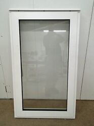 Timber Window Aluminium/plastic Clad And Wooden Glazed 720x1220mm And43 625x1195