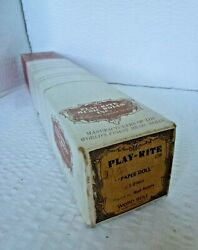 Pianola Word Song Roll. Paper Doll. The Mill Brothers Frank Sinatra Pat Bonne