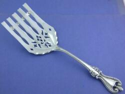 Rare Sterling Towle 9 1/2 Asparagus Serving Fork Old Colonial 1895 No Mono