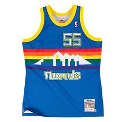 Denver Nuggets Dikembe Mutombo 55 Mitchell And Ness Nba 1991-92 Authentic Jersey
