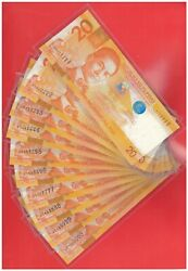 2012 Philippines 20 Peso Nds Solid 22 Pcs Lz 111 -9991mil 01-10 123 654 888888