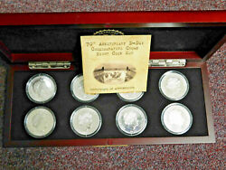 D-day 70th Anniversary 2014 8 Coin Collection From Bradford Exchange