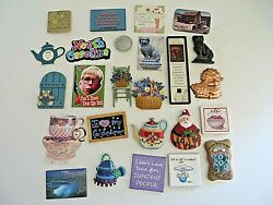 Kitchen And Home Decorative Magnet Collection Various Themes Lot Of 25 4452