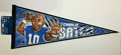 Detroit Lions Charlie Batch Nfl Football Collector Players Pennant New/mint