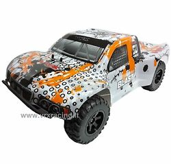Dt5 Ebl Course Truck Elettrico Brushless Off-road Radio 2.4ghz 1/10 Rtr 4wd Vrx