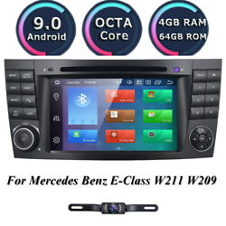 For Mercedes Benz E Class W211 Android10 Octa Core Ips Car Dvd Radio Stereo Gps