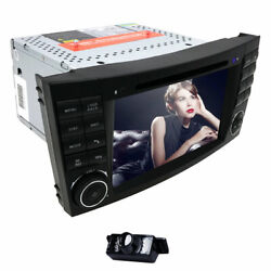 For Mercedes-benz E-w211 Cls-w219 7 Android 10 Car Stereo Dvd Gps Radio 4+64gb
