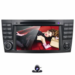 For Mercedes-benz E-w211 Cls-w219 Android 10 Car Stereo Dvd Gps Radio 4+64gb Dsp