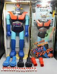 Vintage Popy Shogun Warriors Mazinger Z Robot Toy 24 Jumbo Machinder W/ Box Xx
