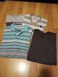 Mens Xl T Shirts Lot X 4 Used Abercrombie And Fitch Casual D35