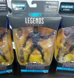 New MARVEL LEGENDS BLACK PANTHER 6quot; Figure MBaku Series Black Panther HASBRO
