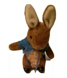 Vintage Eden Turn Key Wind Up Musical Plush Lullaby Baby Peter Cottontail Rabbit