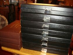 8 Gallery Of Champions Boxes Empty 2 Bronze And 6 Sterling All Listed Some Coa