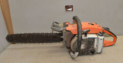 Vintage Stihl 056 Monster Logging Chainsaw Collectible Wood Cutting Tool V3