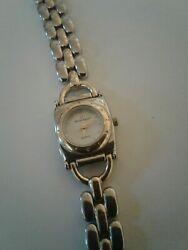 Etienne Aigner Gold and Silver Analog Wristwatch $29.75
