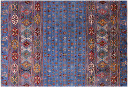 6and039 5 X 9and039 7 Hand Knotted Gabbeh Tribal Wool Rug - Q5507