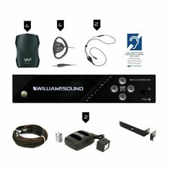 Williams Sound Fm Plus Large-area Dual Fm And Wifi Assistive Listening System W/