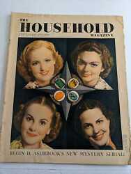 Vintage The Household Magazine May 1938