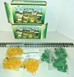 Bachmann Plasticville Shade Trees Two Boxes Autumn And Shade O And S Gauge Vintage