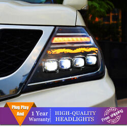Upgrade New Style For Nissan Armada Headlights Projector Full Led Drl 2017-2020