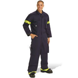 Topps Safety Apparel C012 Fr Indura Extrication Suit Xl Tall, Manufacture 07/09