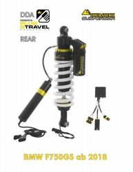 Touratech Suspension Strut Rear For Bmw F750 Gs Since 2018 Dda / Plug And Tra