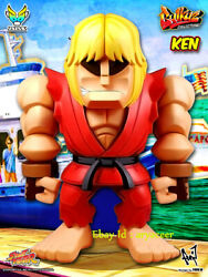 Bigboystoys Street Fighter Ken Limited Action Figure Collection Model In Stock