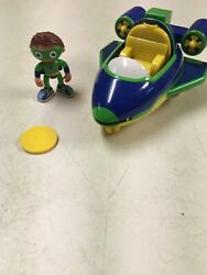 Pbs Super Why Super Action Why Flyer W 3 Inch Wyatt Action Figure Shoots Too