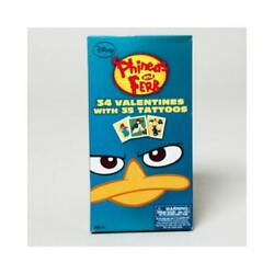 Phineas And Ferb Valentines With Tattoos Case Pack 28