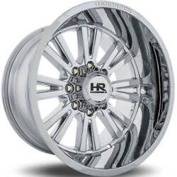 4 - 20x12 Chrome Wheel Hardrock Spine Xposed H503 6x5.5 -44