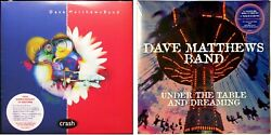 Dave Matthews Band Crash And Under The Table And Dreaming Lp Vinyl Record Album