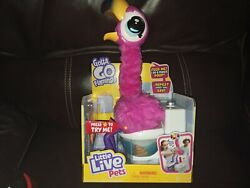 Little Live Pets Gotta Go Flamingo. Eats, Sings, And Poops. Ships Today In Hand