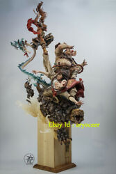Yuan Xingliang Tongtian River Painting Color Version Statue Figure Collection Gk