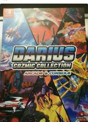 Darius Cozmic Collection ENGLISH Collector#x27;s Edition Switch US seller