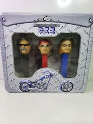 2006 Pez Occ Orange County Choppers Limited Edition Collector's Tin Gift 1258