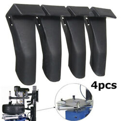 4pcs Black Plastic Edge Clamp Insert Jaw Protectors For-tire-changers Machines