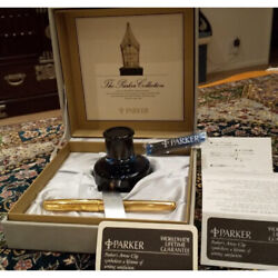 New Unused Parker Parker Fountain Pen 18k With Box Sonnet From Japan No.156