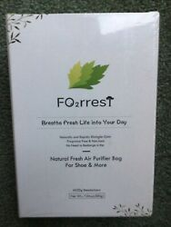 Fo2rrest Natural Fresh Air Purifier Bag For Shoes And More 4 X 50g Deodorizers
